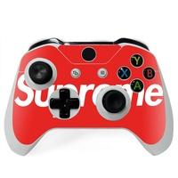 [pr]Supreme Xbox One S手柄貼紙潮牌Xbox One X貼膜XBS/XBX彩貼