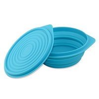 1200ml Telescopic Silicone Lunch Box Travel large capacity Bowl Collapsible Premium Quality Food Wat
