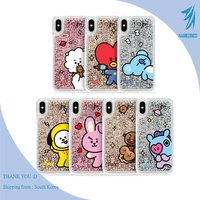 BTS BT21 Official Product Glitter Comic series iPhone Case