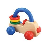 PlayMe:) 皇家小車(彩色)-車子造型幼兒玩具