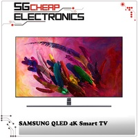 SAMSUNG QA55Q7FNAKXXS QLED 4K Smart TV (55 Inch)- Singapore Warranty