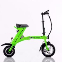 Aleoca E Potenza X.2 Electric Scooter (Green)