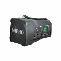 【音旋音響】MIPRO嘉強 MA-100SB 超迷你肩掛式無線喊話器 帶藍芽 黑色 公司貨 12個月保固