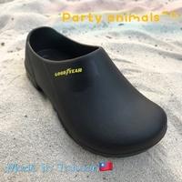 🎊 Party Animals 🎊固特異 超輕量款 廚師鞋 舒適軟Q 荷蘭鞋 懶人鞋 園藝鞋 耐油止滑【73830】