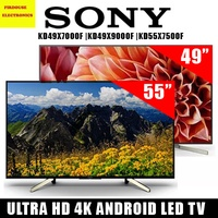 SONY KD49X7000F |KD49X9000F |KD55X7500F 55 IN ULTRA HD 4K ANDROID LED TV