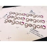 """gogoro 狗2 kitty豹紋 logo 貼紙 """"3M 鑄造級 180 """" """"車體彩繪專用膜料製成"""""""