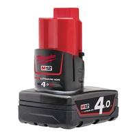 胖達人五金   美沃奇 米沃奇 Milwaukee M12 B4 12V 4.0AH  鋰電池 充電電池