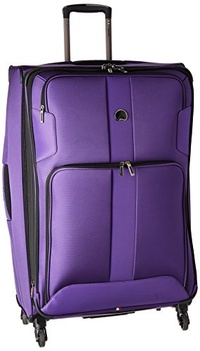 DELSEY Paris Delsey Luggage Sky Max 29 Expandable Spinner Upright, Purple