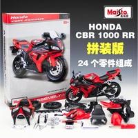 阿莎力 1:12 本田 HONDA CBR1000RR 組裝模型 美馳圖 Maisto 重機模型 摩托車 重機 紅牌