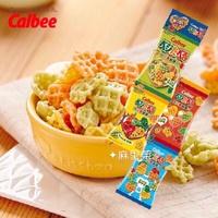 |新到貨|#現貨 日本 calbee 卡樂比 7種野菜薯條餅 心型野菜 薯條 心型 蔬菜餅乾 4連包