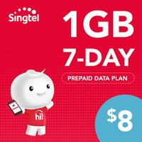 Singtel Data Package - 1GB (7 days)