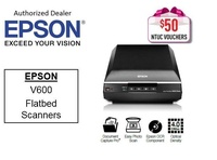 Epson V600   ** Free $50 NTUC Voucher Till 5th Jan 2019 ** Photo Flatbed Scanner Perfection V 600