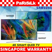 Samsung QA55Q7 / QA55Q8 4K Smart QLED TV - Singapore Warranty