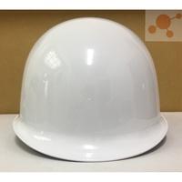 ABS 日式安全帽 石頭牌 產業用防護頭盔 工程帽 工地帽 工作帽 安全帽 可印字 白色 台灣製 鋼盔式 專利一指鍵