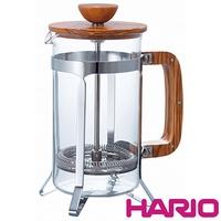【HARIO】橄欖木濾壓咖啡壺600ml CPSW-4-OV