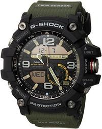 ▶$1 Shop Coupon◀  Casio Men s GG-1000-1A3CR Mudmaster G-SHOCK Quartz Casual Watch, Green