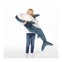 (限時免運)台灣IKEA 鯊魚 BLÅHAJ 100 公分