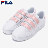 FILA 2018 New Court Deluxe White/Pink Shoes FS1SIA1051X