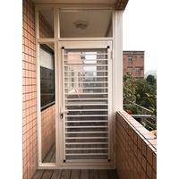三合一通風門。陽台窗