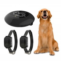 Pet Wireless Electronic Dog Fence Containment System Wireless Signal Transmitter Dog Training Collar with Vibrating Electric Shock