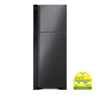 HITACHI R-V560P7MS 2 DR FRIDGE (NET 450L) + FREE HITACHI 1600W VACUUM CLEANER