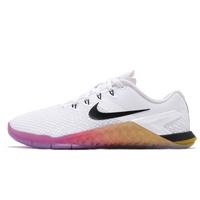 Nike 訓練鞋 Metcon 4 XD 白 彩色 四代 低筒 健身 運動 女鞋 CD3128-107 【ACS】