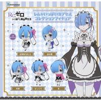 【日本正版授權】全套5款 從零開始的異世界生活 雷姆 公仔吊飾 扭蛋/轉蛋 RE:ZERO 355855