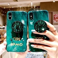 VIVO Y71 Y53 Y55 Y66 Y67V7 Y75 Y85 Y79 Y73 Y97 Emerald Soft TPU Case Stand
