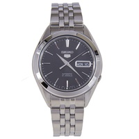 Seiko 5 Automatic Black Dial Stainless Steel Watch SNKL23 SNKL23K1
