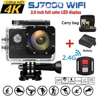 2.0 Inch 16MP Sports Camera SJ7000/SJ7000K 1080P 4K Ultra HD 170 Degree Wide Lens Wifi Action DVR Wa