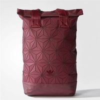 Adidas xIssey Miyake 3D Diamond Leisure Backpack, for Both Men and Women bags, Red