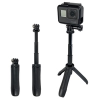 Handheld Mini Tripod Mount Selfie Stick Extendable Monopod for Gopro Hero 6 5 4 3+ SJCAM Xiaomi YI 4