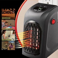 (Free Shipping for WM - Klang Valley,WM - Non Klang Valley,EM - Sabah)SCIOLTO SPORTS Handy Wall Air Warmer Electric Heaters Thermostat Home Bathroom Bedroom Camping