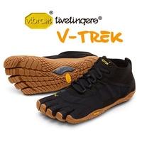 【Vibram Fivefingers VFF 義大利】V-TREK 黃金大底五指鞋 戶外休閒越野 黑色 女款 (18W7401)