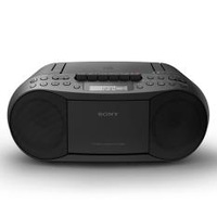 Sony Singapore CFD-S70 Cassette Tape and CD Player with Radio (Black)