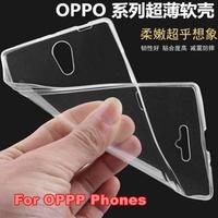 Slim Clear Gel TPU Case Cover For Oppo R9 R11 Plus R9S R11S A77 A79 A83 A1 A37 A59 A57
