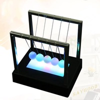 sg✥ Newton Luminous Balance Ball Physics Science Toy Home Desktop Ornament Gift