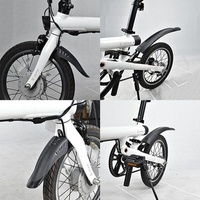store For XIAOMI Upgraded version 3rd Qicycle electric bicycle original Fender splash guard Mudguard