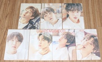 BANGTAN BOYS 2018 BTS EXHIBITION '오늘' OFFICIAL GOODS CLIP BOARD + PHOTOCARD SET