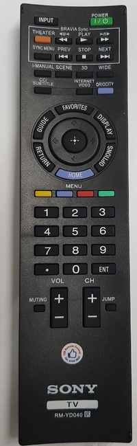 ★Local Shop★ New Sony LED/LCD TV Remote Control Replacement RM-GD014 / RM-YD040 etc
