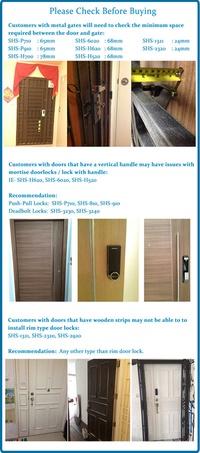 Gateman iRevo GATEMAN V10 Digital doorlock + Tag keys +English maual for WV20 / WF10 / WV20 door / l