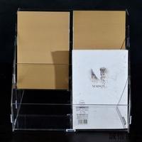 收納盒 壓克力展示盒 壓克力 壓克力資料架面膜展示架面膜架多格化妝品收納盒