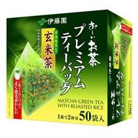 花花日貨🇯🇵伊藤園 綠茶玄米茶 50袋入 Itoen三角立體茶包 日本宇治抹茶