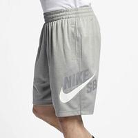 Shoestw【BQ9427-082】NIKE SB 運動短褲 訓練褲 慢跑短褲 DRI-FIT 灰色 男生