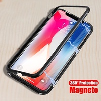 OPPO R17 R11 R11S R9S plus  Magnetic Adsorption metal Case