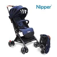【Nipper】Mini urban 膠囊推車-藍色【全台唯一可平躺膠囊推車】