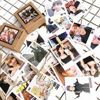 KPOP BTS BT21 LOMO Card Photocard 40pcs BLACKPINK Postcard