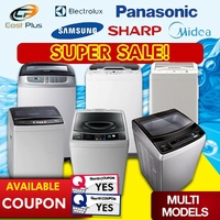 *SALES* Panasonic / Sharp / Samsung / Midea Top Loading Washing Machine (7- 10KG) * FAST DELIVERY