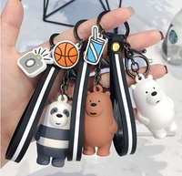We Bare Bears / Webarebear / We Bare Bears Keychain /  Key Chain