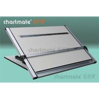 chartmate 恰得美 製圖桌 : 334DM 桌上型製圖板/軌道重錘平行儀/證照考試用  A2加大、A1、A1加大